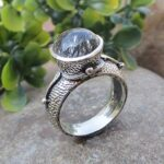 925-Sterling-Silver-Black-Rutiliated-Quartz-Ring-Handmade-Jewelry-for-Womens-B07L2TQCRP