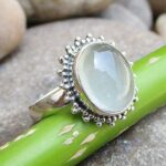 925-Sterling-Silver-Blue-Chalcedony-Ring-Gemstone-Handmade-Jewelry-B07L2TP9RN-2