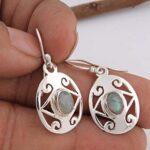 925-Sterling-Silver-Dangle-Earrings-Oval-Labradorite-Earring-Drop-Earrings-B07SR45BV6