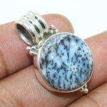 925-Sterling-Silver-Dendritic-Opal-Gemstone-Unique-Pendant-B07JHQ3QM7