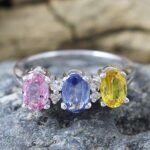 925-Sterling-Silver-Multi-Sapphire-Diamond-Engagement-Ring-B07L2W9JJ3
