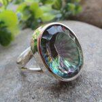 925-Sterling-Silver-Mystic-Quartz-Ring-Gemstone-Handmade-Jewelry-B07L2VC1FD
