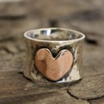 925-Sterling-Silver-Ring-Big-Heart-Designer-Ring-Unisex-Ring-Statement-Ring-Partywear-Ring-for-Love-Gift-for-Women-B07RWRTYJS