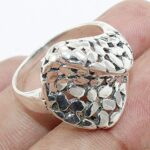 925-Sterling-Silver-Textured-Cluster-Ring-Jewelry-B07QN8B7BN