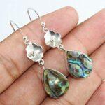 Abalone-925-Solid-Sterling-Silver-Earrings-for-Women-Handmade-Jewelry-For-Christmas-Gift-for-Girls-B07KKMHR9Z