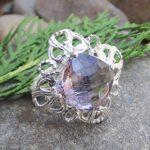 Amethyst-Birthstone-925-Sterling-Silver-Ring-Handmade-Jewelry-B07L2V2654