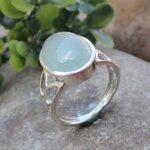 Aqua-Chalcedony-925-Sterling-Silver-Ring-Handmade-Jewelry-B07L2V17YZ