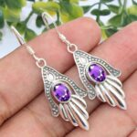 Beautifully-Dangle-Earrings-Designed-Earrings-Natural-Amethyst-Gemstone-925-Sterling-Silver-Earrings-for-Womens-Gift-B-B07RDPMW6C