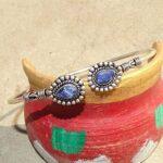 Blue-Sapphire-Cuff-BraceletSolid-925-Sterling-Silver-BraceletPear-Shape-BraceletBraceletGift-For-HerHandmade-Cuff-B-B084ZSH7HQ