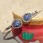 Blue-Sapphire-Cuff-BraceletSolid-925-Sterling-Silver-BraceletPear-Shape-BraceletBraceletGift-For-HerHandmade-Cuff-B-B084ZSH7HQ-2