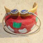 Blue-Sapphire-Cuff-BraceletSolid-925-Sterling-Silver-BraceletPear-Shape-BraceletBraceletGift-For-HerHandmade-Cuff-B-B084ZSH7HQ-3