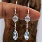 Blue-Topaz-Gemstone-Sterling-Silver-2-tier-Drop-Earrings-for-Women-and-Girls-Bezel-Set-Ear-Wire-Earrings-Blue-Bridesma-B08K647FKZ