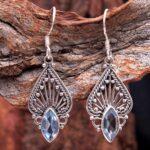 Blue-Topaz-Gemstone-Sterling-Silver-Drop-Earrings-for-Women-and-Girls-Bezel-Set-Ear-Wire-Earrings-Blue-Bridesmaid-Earr-B08K62J6CN-2