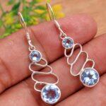 Blue-Topaz-Gemstone-Sterling-Silver-Drop-Earrings-for-Women-and-Girls-Bezel-Set-Ear-Wire-Earrings-Blue-Bridesmaid-Earr-B08K631SWZ