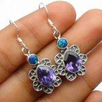 Blue-Topaz-Gemstone-Sterling-Silver-Floral-Drop-Earrings-for-Women-and-Girls-Bezel-Set-Ear-Wire-Earrings-Blue-Bridesma-B08K62TZX2