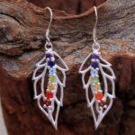 Blue-Topaz-Gemstone-Sterling-Silver-Leaf-Drop-Earrings-for-Women-and-Girls-Prongs-Set-Ear-Wire-Earrings-Blue-Bridesmai-B08K62R3G9-2