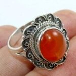 Carnelian-Gemstone-Solid-925-Sterling-Silver-Ring-B07L2VRKGZ