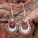 Carnelian-Gemstone-Sterling-Silver-Crescent-Dangle-Earrings-for-Women-and-Girls-Bezel-Set-Ear-Wire-Earrings-Orange-Bri-B08K642PWV-2