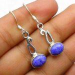 Charoite-Gemstone-Sterling-Silver-Drop-Earrings-for-Women-and-Girls-Bezel-Set-Ear-Wire-Earrings-Purple-Bridesmaid-Earr-B08K63LKYK