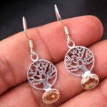 Citrine-Gemstone-Sterling-Silver-Tree-Drop-Earrings-for-Women-and-Girls-Bezel-Set-Ear-Wire-Earrings-Yellow-Bridesmaid-B08K6222J7