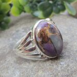 Copper-Purple-Turquoise-925-Sterling-Silver-Ring-Gemstone-Handmade-Jewelry-B07L2FF397