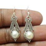 Cultured-Freshwater-Pearl-Silver-Teardrop-Earrings-B07JFMW4GY