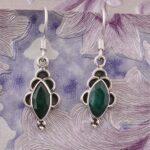 Dangle-Earrings-Marquise-Emerald-Earrings-Drop-Earrings-Silver-Earrings-for-Summer-Gift-B07S23GYQ1