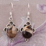 Drop-Earrings-Dangle-Earrings-Silver-Earrings-for-Summer-Gift-Oval-Jasper-Earrings-B07S35Y22N-2