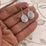 Drop-Earrings-Pear-Rainbow-Moonstone-Earrings-Dangle-Earrings-Boho-Hippie-Sterling-Silver-Earrings-for-Gift-B07S353JLX