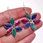 Emerald-Gemstone-Sterling-Silver-Dangle-Earrings-for-Women-and-Girls-Bezel-Set-Ear-Wire-Earrings-Blue-Bridesmaid-Earri-B08K61RQLL