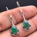 Emerald-Gemstone-Sterling-Silver-Drop-Earrings-for-Women-and-Girls-Bezel-Set-Ear-Wire-Earrings-Green-Bridesmaid-Earrin-B08K629DXJ-2