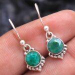 Emerald-Gemstone-Sterling-Silver-Small-Dangle-Earrings-for-Women-and-Girls-Bezel-Set-Ear-Wire-Earrings-Green-Bridesmai-B08K62DJG6