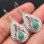 Emerald-Gemstone-Sterling-Silver-Vintage-Drop-Earrings-for-Women-and-Girls-Bezel-Set-Ear-Wire-Earrings-Green-Bridesmai-B08K62XBPD