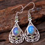 Ethiopian-Opal-Gemstone-Sterling-Silver-Drop-Earrings-for-Women-and-Girls-Bezel-Set-Ear-Wire-Earrings-Blue-Bridesmaid-B08K6375TB-2