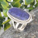 Giant-Blue-Sapphire-Solid-925-Sterling-Silver-Ring-Handmade-Jewelry-B07L2VLJ36