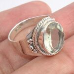 Green-Amethyst-925-Sterling-Silver-Ring-Handmade-Jewelry-B07L2VGC5L