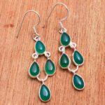 Green-Onyx-Gemstone-Sterling-Silver-Drop-Earrings-for-Women-and-Girls-Bezel-Set-Ear-Wire-Earrings-Green-Bridesmaid-Ear-B08K62VXTD