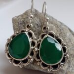 Green-Onyx-Silver-Earrings-Birthstone-Earring-Sterling-Silver-Earrings-Handmade-Earrings-Gemstone-Earrings-Valetine-B07MZCK913