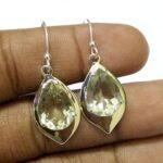 Kanika-Jewelry-Trove-Green-Amethyst-Sterling-Silver-Handmade-Earrings-Green-Dangle-Earrings-B07K1DW44J