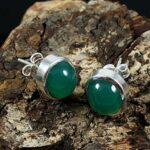 Kanika-Jewelry-Trove-Green-Onyx-925-Sterling-Silver-Earrings-Stud-B07JZFB2KN