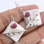 Kanika-Jewelry-Trove-Square-Shape-Round-Ruby-925-Sterling-Silver-Earrings-B07JZVBGJ2