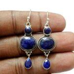 Kanika-Jewelry-Trove-Sterling-Silver-3-Tier-Sapphire-Dangle-Earrings-B07JZND9LG
