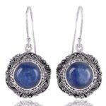 Kyanite-925-Sterling-Silver-Vintage-Dangle-Earrings-B07TJ2F9NJ
