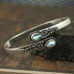 Labradorite-Gemstone-Cuff-BraceletSolid-925-Sterling-Silver-BraceletPear-Shape-BraceletBraceletGift-For-Her-B084ZRDPG8