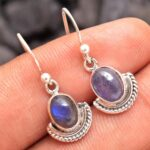 Labradorite-Gemstone-Sterling-Silver-Crescent-Drop-Earrings-for-Women-and-Girls-Bezel-Set-Ear-Wire-Earrings-Blue-Bride-B08K5N9T4Q-2