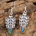 Labradorite-Gemstone-Sterling-Silver-Dangle-Earrings-for-Women-and-Girls-Bezel-Set-Ear-Wire-Earrings-Blue-Bridesmaid-E-B08K613CJC-2