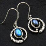 Labradorite-Gemstone-Sterling-Silver-Dangle-Earrings-for-Women-and-Girls-Bezel-Set-Ear-Wire-Earrings-Blue-Bridesmaid-E-B08K648WLB