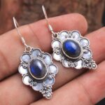 Labradorite-Gemstone-Sterling-Silver-Designer-Drop-Earrings-for-Women-and-Girls-Bezel-Set-Ear-Wire-Earrings-Blue-Bride-B08K62BZP4
