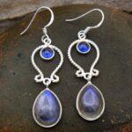 Labradorite-Gemstone-Sterling-Silver-Drop-Earrings-for-Women-and-Girls-Bezel-Set-Ear-Wire-Earrings-Blue-Bridesmaid-Ear-B08K5XQ5KZ-2