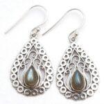 Labradorite-Gemstone-Sterling-Silver-Drop-Earrings-for-Women-and-Girls-Bezel-Set-Ear-Wire-Earrings-Blue-Bridesmaid-Ear-B08K5ZXW7Y